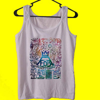 DILLON You Son of a BITCH fal out boy tank top womens and mens,unisex adults standard fit cut and double stiched on neck and shoulders