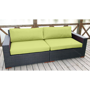 Coral Gables Patio / Outdoor Sofa Multiple Colors