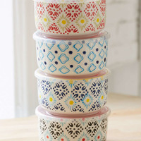 Ceramic Food Storage Bowl Set - Urban Outfitters