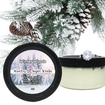 Winter Woods Jewelry Sugar Scrub