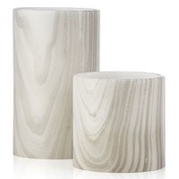 Marble LED Pillar | Candles & Home Fragrance | Home Accents | Decor | Z Gallerie