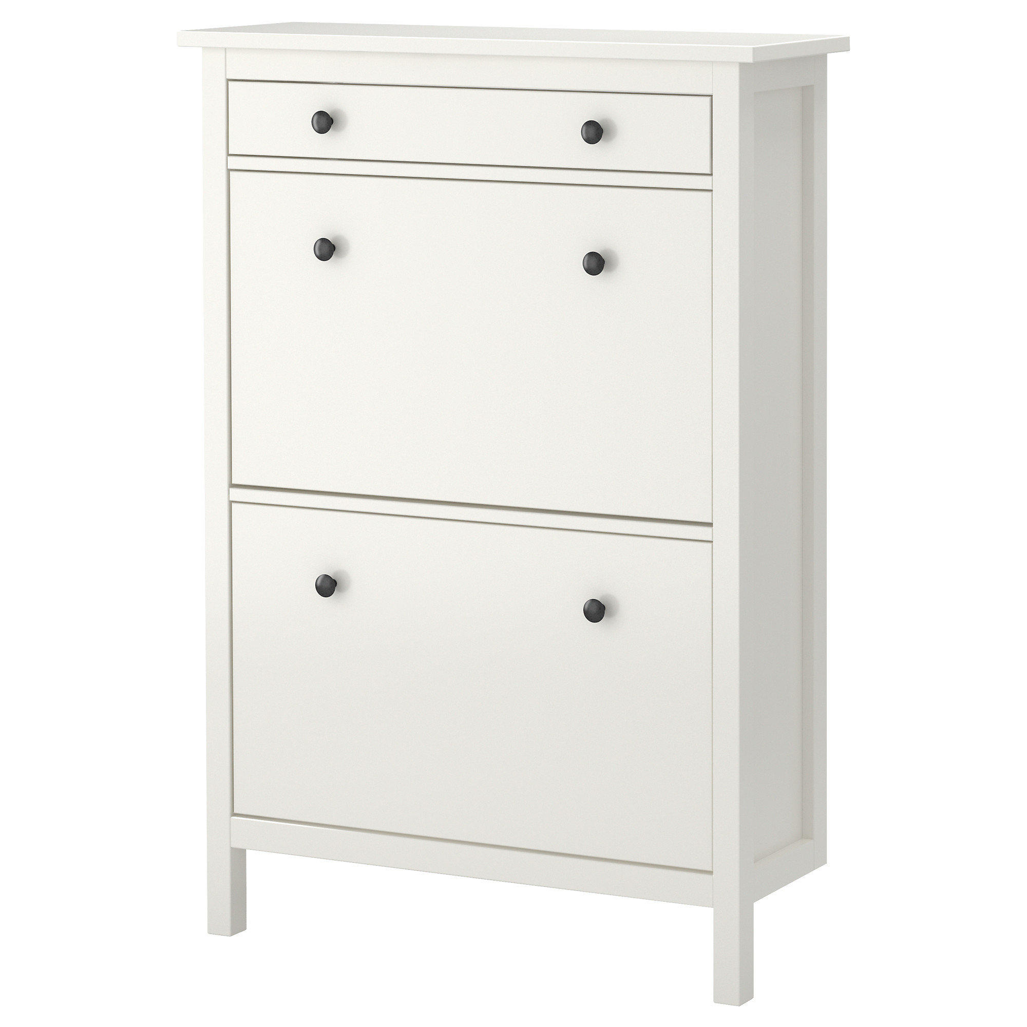 Hemnes Shoe Cabinet With 2 Compartments From Ikea
