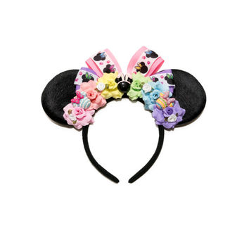 Easter Disney Ears Headband, Mouse Ears, Easter Mouse Ears, Minnie Mouse Ears, Disney Headband, Disney Bound, Disneyland, Disney World