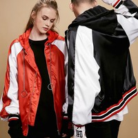 Unisex O-Ring Bomber Jacket