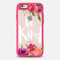 Latest Fashion Tech iPhone Case by Casetify | Be Kind Design by Papermountainco (iPhone 6, 6s, 6 Plus, 6s Plus, 7)