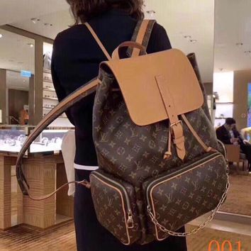 HCXX 19Aug 019 LV44658 Louis Vuitton Bosphore Fashion Casual Monogram Sprintting Backpack 45-33-22cm