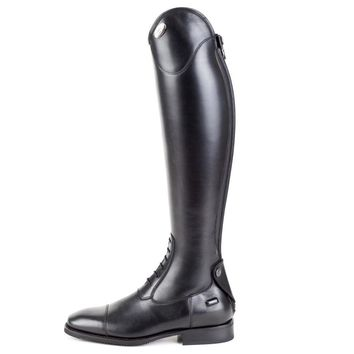 DeNiro Salento Black Field Boot - Tall Height