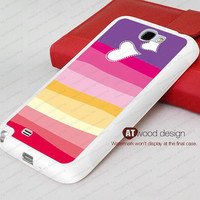 sweet heart Samsung  Galaxy S4 case I9500 case Silicon cases customizable rubber case Samsung Galaxy Note 2 II N7100 case