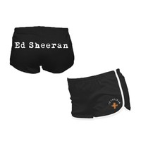 Ed Sheeran Black Playful Shorts. Buy online, http://www.edsheeran.com/