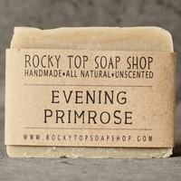 Evening Primrose Soap All Natural by RockyTopSoapShop