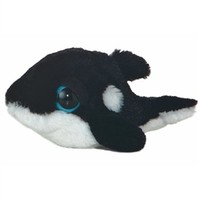 "Dreamy Eyes Shamus Orca Whale 6"" by Aurora"