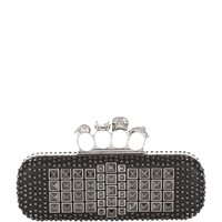 Alexander McQueen Pyramid Stud Knuckle Duster Clutch | Harrods