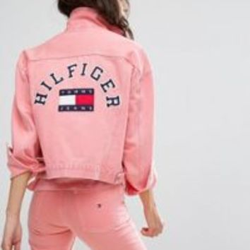 Tommy Jeans 90's Girlfriend Trucker Jacket at asos.com