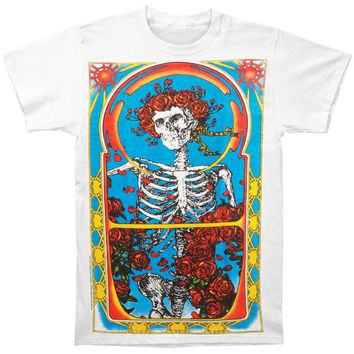 Grateful Dead Men's  1971 Subway T-shirt White