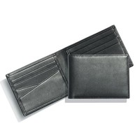 Men's Bosca Small Bifold Wallet - Black