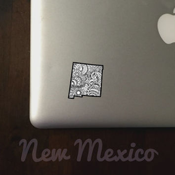 New Mexico State Sticker