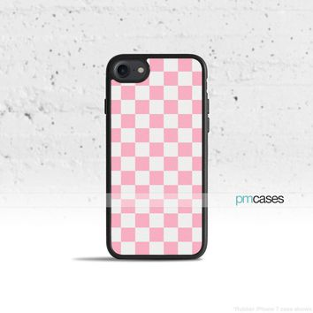 Pink Checkerboard Phone Case Cover for Apple iPhone iPod Samsung Galaxy S & Note
