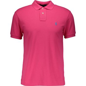 POLO RALPH LAUREN Bright Pink Slim Fit Polo shirt
