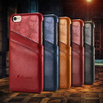 Luxury Leather Case For iPhone 6 Plus,iPhone 6s,iPhone 6,iphone 7,iphone 7 Plus
