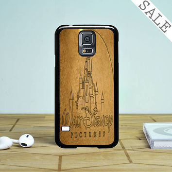 Walt Disney Logo Sketch Samsung Galaxy S5 Case