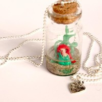 Ariel In Bottle... Necklace on Luulla