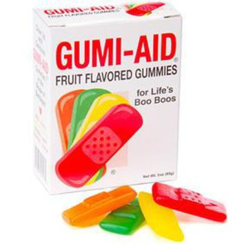 Gummy First Aid Bandages: 3 Ounce Box
