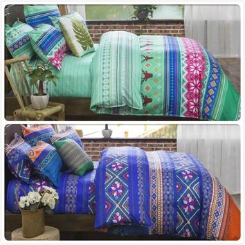 Cool Classic Stripe Duvet Cover Pillowcase 2/3/4 pcs Bedding Sets Couple Kids Bed Linens Europe US King Queen Twin Double Single SizeAT_93_12