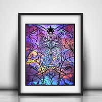Watcher of the Dark Limited Edition Art Print