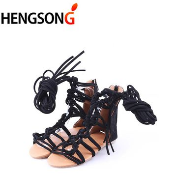Fashion Knee Length Sexy Cross-Tie Sandal Women Gladiator Sandals Women Cross Strap Tall Sandals Women Boot Sandals Shoes 876620