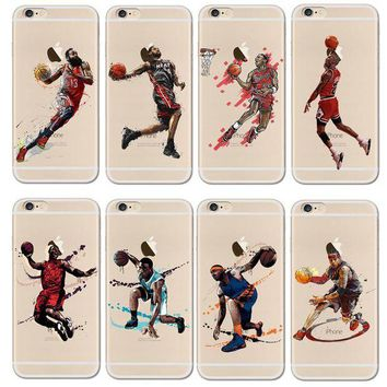 DCKL9 For NBA Basketball Phone Case for iphone 5 5se 6 6s 7 plus Cases Jordan 23 James Harde