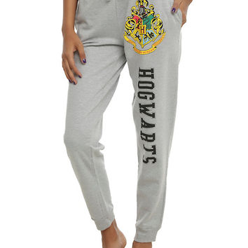 Harry Potter Hogwarts Girls Jogger Pants