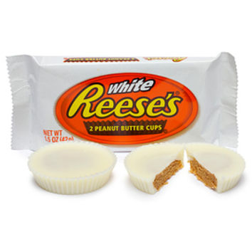 Reese's White Chocolate Peanut Butter Cups: 24-Piece Box