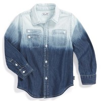 Boy's Splendid Dip Dye Chambray Shirt,