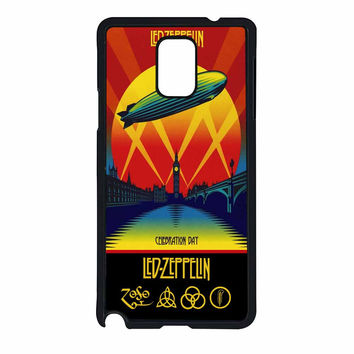 Led Zeppelin Poster Samsung Galaxy Note 4 Case