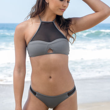 Issa de Mar - Harper Top | Stone Grey