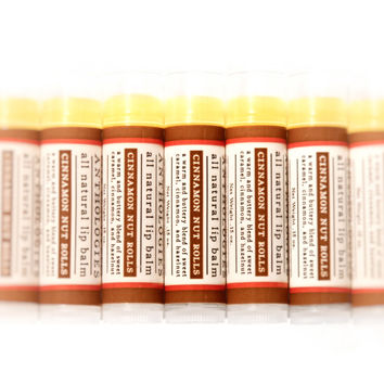 Cinnamon Nut Rolls - All Natural Lip Balm
