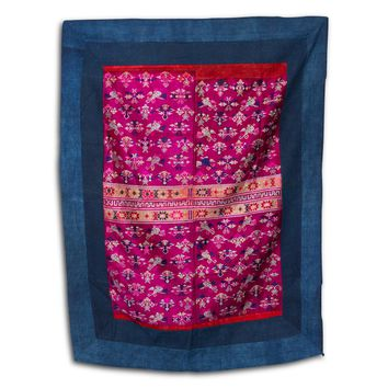 Chinese Wedding Blanket Textile