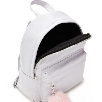 Pom Pom Large Sheeny Backpack