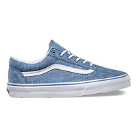 Denim Chevron Old Skool | Shop Classic Shoes at Vans