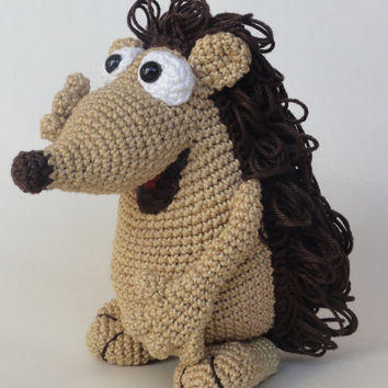 Quilliam the Hedgehog  Amigurumi Crochet Pattern by IlDikko