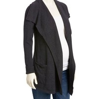 Old Navy Maternity Open Front Shawl Collar Cardigan