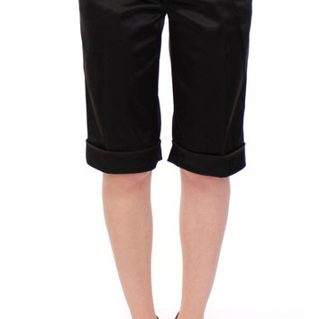 Black nylon shorts pants