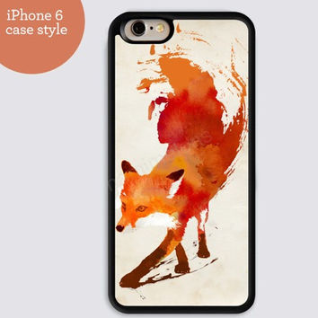 iphone 6 cover,Fox case watercolor iphone 6 plus,Feather IPhone 4,4s case,color IPhone 5s,vivid IPhone 5c,IPhone 5 case Waterproof 273