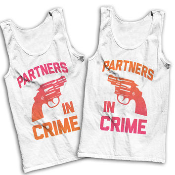 Partners In Crime Best Friends Tees