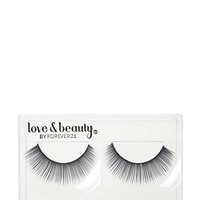 FOREVER 21 Faux Eyelashes Black One