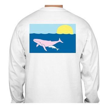 Humpback Whale T-Shirt - Long Sleeve