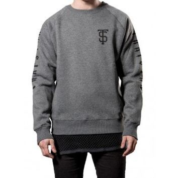 TS Team sweater (grey) - Sweatshirts | Trapstar