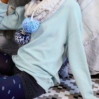 Aerie Downtown Sweatshirt, Icy Blue