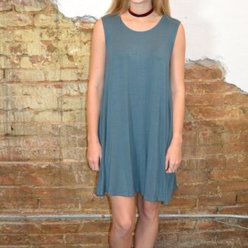 Finding Love Dress: Teal