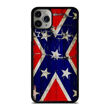 REBEL FLAG WOODEN 2 iPhone Case Cover